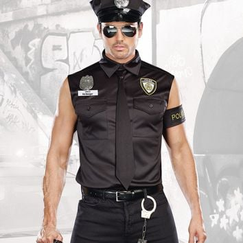 """Dirty Cop Ed Banger"" Costume"