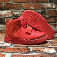 "[FreeShipping ] Nike Air Yeezy 2 Sp ""Red October""  Basketball  Sneaker"