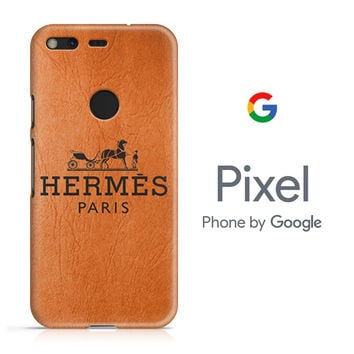 Hermes Paris Google Pixel Phone 3D Case