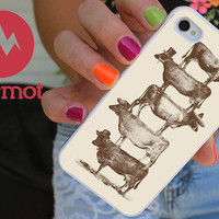 Cow Cow Nuts iPhone 5 Case, Elixir iPhone Case, Steampunk iPhone 4 Case, iPhone 5S, iPhone 5C Case