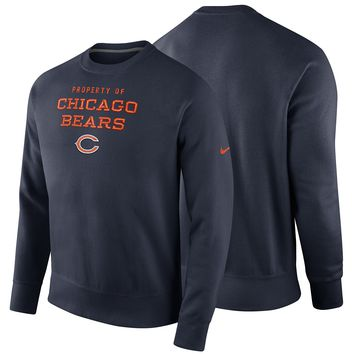 Chicago Bears Stadium Classic Property Of Crew Neck Sweatshirt