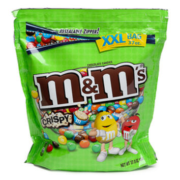 Crispy M&M's Milk Chocolate Candy: 37-Ounce Bag