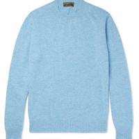 Cordings - Slim-Fit Mélange New Wool Sweater