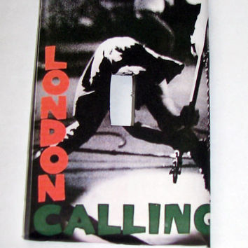 Light Switch Cover - Light Switch Plate The Clash London Calling