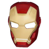 Iron Man Glow In The Dark Basic Mask - ARC FX Iron Man Hero Mask