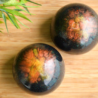 Space Soap - Geek Gift - Coworker Gift - Unique Gift Best Friend - Science Teacher Gift - Decorative Soap Ball - Lemon Soap - Galaxy Soap