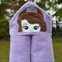 Amulet Young Princess Hooded Towel