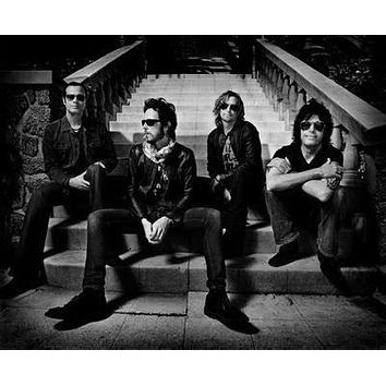 Stone Temple Pilots Poster Standup 4inx6in black and white