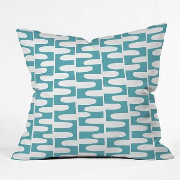 Heather Dutton Hopscotch Pond Throw Pillow
