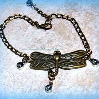 Adjustable Anklet Dragonfly with Chain Direct Checkout Mothers Day Jewelry Adjustable Anklet Rhinestones