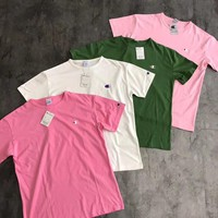 Champion Embroidery Small Logo Short sleeve T-shirt