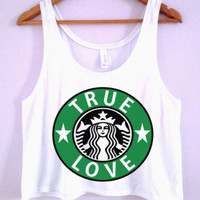 Starbucks True Love Crop-Top