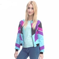 90s Design Retro Outwear Women Jackets
