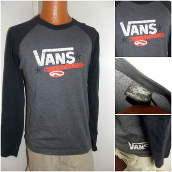 Vans Off the Wall Longsleeve Adult Size Medium T Shirt
