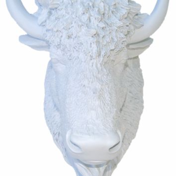 Bison - Wall Mount - White