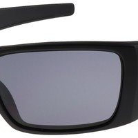 Oakley Fuel Cell Sunglasses OO9096-29 Matte Black Frame with Grey Lens | BNIB