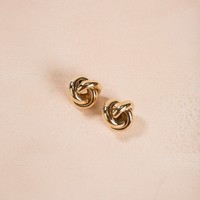 Alessia Gold Spiral Earrings