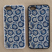 Floral Pattern iPhone Case, iPhone 5 Case, iPhone 4S Case, iPhone 4 Case - SKU: 191