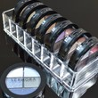 Acrylic Compact Organizer & Beauty Care Holder Provides 8 Space Storage | byAlegory