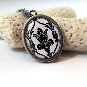 221B Wallpaper / Sherlock Inspired Necklace