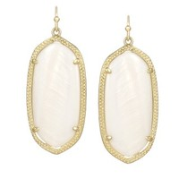 Elle Earrings in White Pearl - Kendra Scott Jewelry