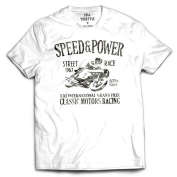 Speed and Power Mens Tee