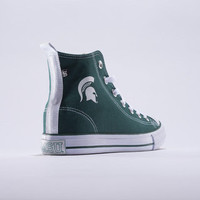 Michigan State Spartans Official NCAA Skicks Unisex High Top Sneakers