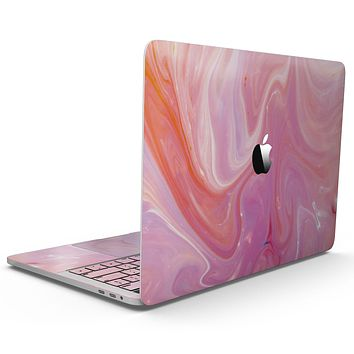 Marbleized Pink Paradise V2 - MacBook Pro with Touch Bar Skin Kit