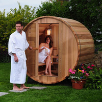 Almost Heaven Saunas Seneca 4-person Outdoor Steam Sauna