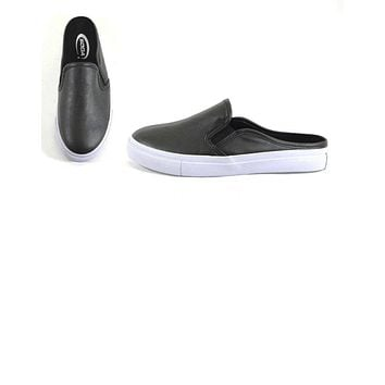 Zeta Black Mule Tennis Shoe