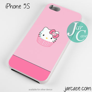 pink cake hello kitty Phone case for iPhone 4/4s/5/5c/5s/6/6 plus