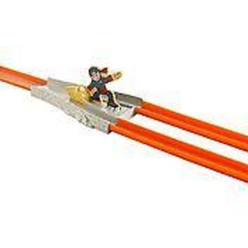 Hot Wheels Action Track Set, Split Speeders Ninja Chop