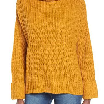 Leith Chunky Turtleneck Sweater | Nordstrom