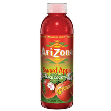 Arizona Tea Sweet Apple Tallboys 20 Oz Pack of 24