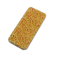 Cool Noodles Realistic Pattern Printed TPU Phone Soft Cover for iPhone 4 4S 5 5s SE 5c 6 6s 6Plus 6S Plus