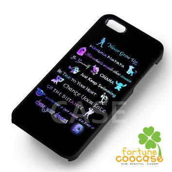 Disney The All Quotes for iPhone 4/4S/5/5S/5C/6/ 6+,samsung S3/S4/S5,S6 Regular,S6 edge,samsung note 3/4
