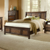 Progressive Furniture P19 Kingston Isle Sleigh Bed | ATG Stores