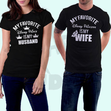 Couples Shirts, Mechanic Husband, Honeymoon Shirts, Vacation Shirts, Couples Matching Shirts