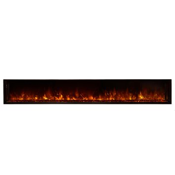 "Modern Flames 100"" Built-in Electric Fireplace (LFV10015-SH)"
