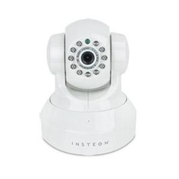 Insteon 75790WH Wireless Security IP Camera with Pan Tilt and Night Vision