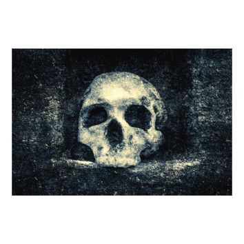 Halloween Horror Skull Photo Print