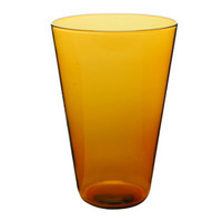 Eau Minerale Glass in Amber (Large)