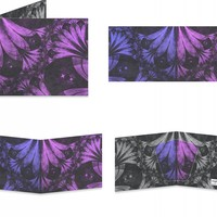 Lilac Fractal Feathers