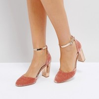 Coco Wren Block Heel Shoe at asos.com