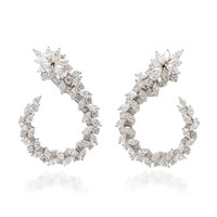 Sinrise Diamond Loop Earrings | Moda Operandi