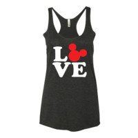 Love Mickey Mouse Disney Women's tank top