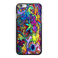 Psychedelic Weed iPhone 6 Plus Case