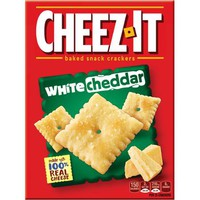 Cheez-It White Cheddar Baked Snack Crackers, 12.4 oz - Walmart.com