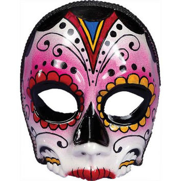 Costume Mask: Day of Dead Female Mask