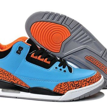 New Air Jordan 3 Thunder Custom Russell Westbrook Jordan 3 Thunder - Beauty Ticks